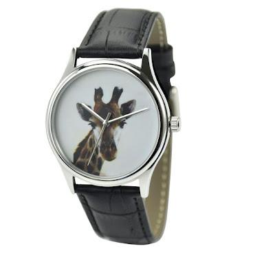 長頸鹿(大頭)手錶