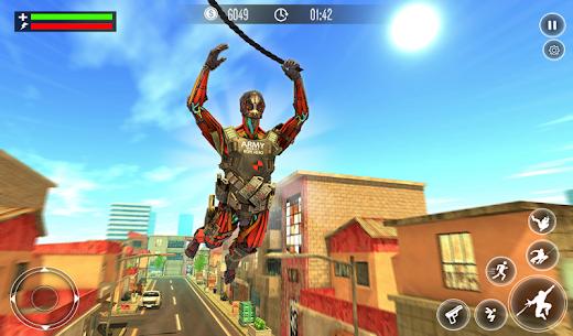 Robot Rope Hero Simulator – Army Robot Crime Game 9