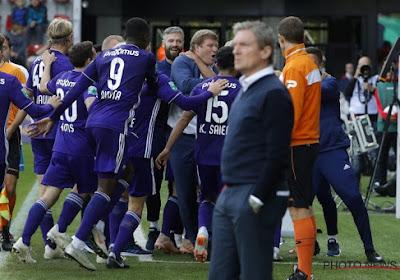 Anderlecht se relève timidement et enfonce Zulte