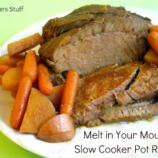 Melt in Your Mouth Slow Cooker Pot Roast.