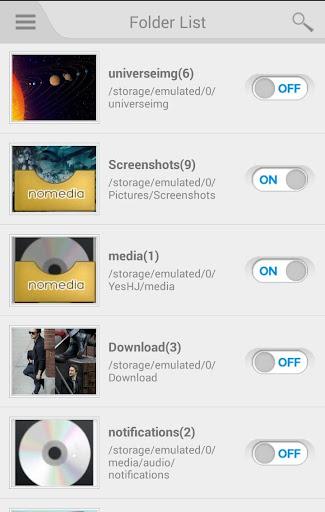Nomedia 4.3.1 screenshots 2
