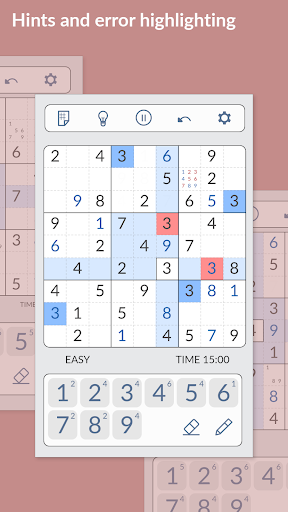 SUDOKU - Free, No Ads 1.1.406 screenshots 3