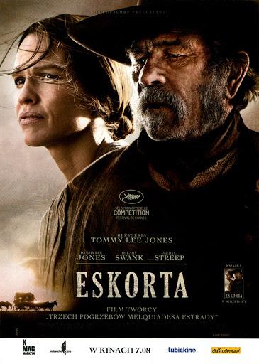 Przód ulotki filmu 'Eskorta'