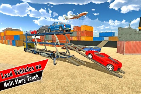 Multi Storey Car Transporter Truck- screenshot thumbnail