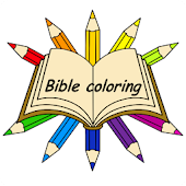 Bible Coloring Story Book