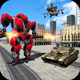Трансформация робота США: боевой симулятор