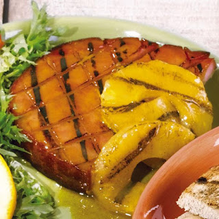 Grilled Ham Steak With Pineapple Recipes