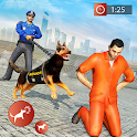Police Dog Crime Chase Duty icon