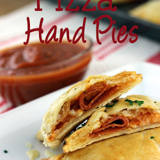 Pizza Hand Pies.