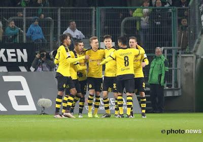 Dortmund s'impose dans un match rocambolesque