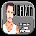 Música J Balvin con Letras icon
