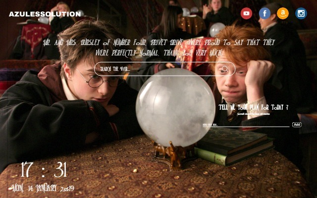 Harry Potter Wallpaper - New Tab Theme