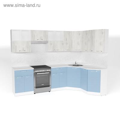 Кухонный гарнитур Мария оптима 5 2700*1600 мм