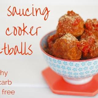 Self Saucing Meatballs in the Slow Cooker Recipe