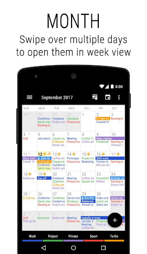 Business Calendar 2 Apk Download Free for PC, smart TV