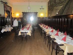 Photo: Tafel im Restaurant Sperl