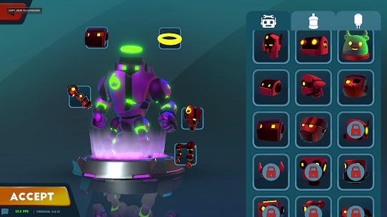 Bomb Bots Arena MOD APK (Unlimited Money/Gold) for Android 4