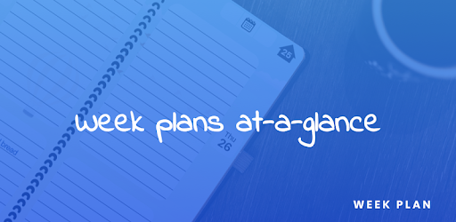 Week Plan for PC