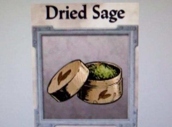 1/2 teaspoon dried sage