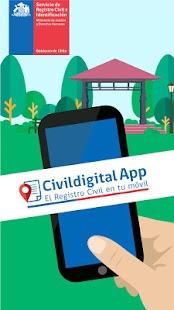 Civildigital-APP - náhled