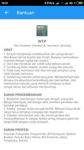 Tes Kepribadian Indonesia 1.0 screenshots 3