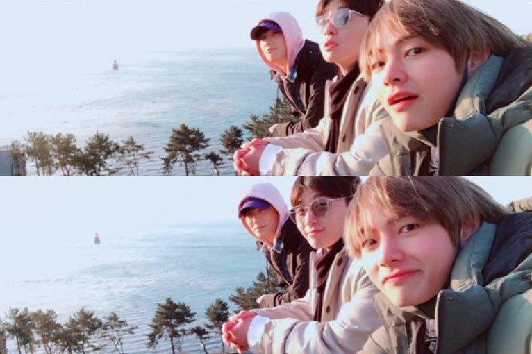 park seo joon bts v hyung sik 2