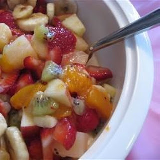 Sunday Best Fruit Salad.