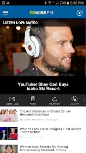 103.5 KISSFM - Boise's #1 Hit Music Station (KSAS)- screenshot thumbnail