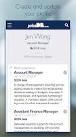 Screenshot of jobsDB Job Search