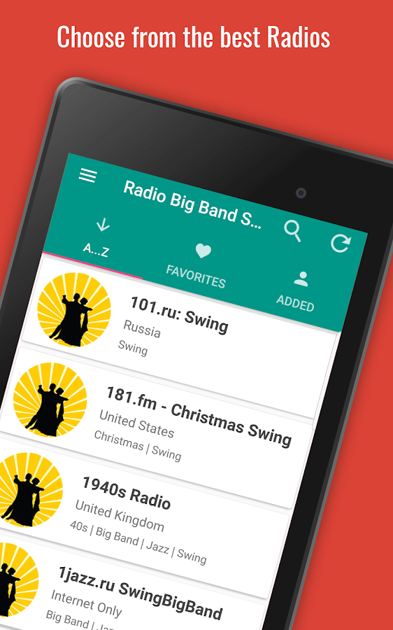 Radio Big Band & Swing Music PRO- screenshot