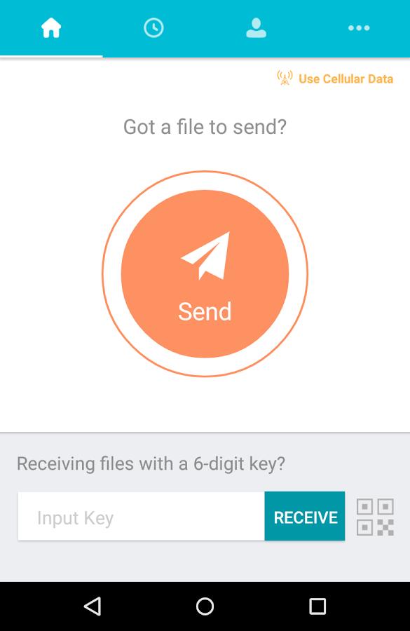 Send Anywhere (File Transfer)- screenshot