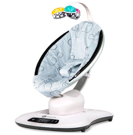 4Moms Babysitter Mamaroo 4.0, Silver Plysch
