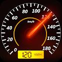 GPS Speedometer - Trip Meter, Speed Tracker On Map icon