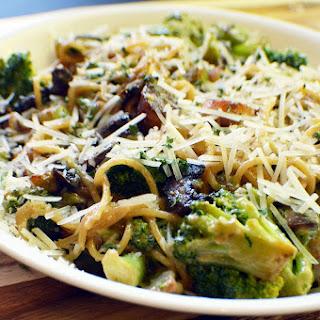Scallop & Broccoli Alfredo