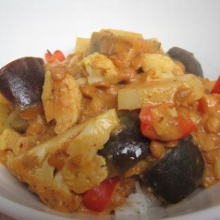 Lentil & Cauliflower Madras Curry Recipe