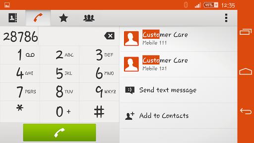 Zig Zag Xperien Theme screenshot 6