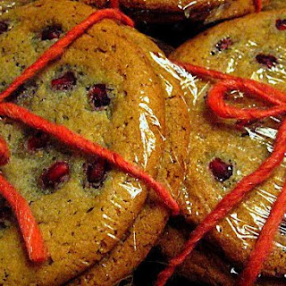 Pomegranate Sugar Cookies Recipe