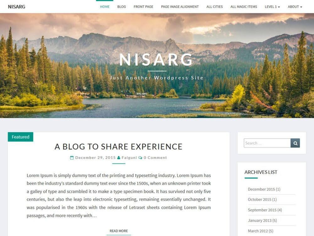 theme-wordpress-mien-phi-nisarg