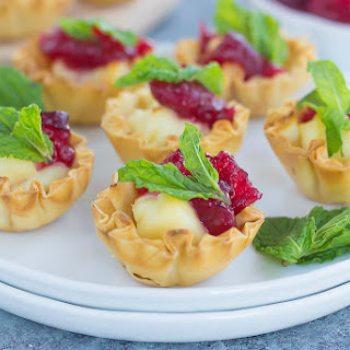 Brie With Cranberries Sauce Recipes