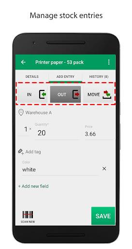 Mobile Inventory 4.6.5 - Breithorn - pr screenshots 5