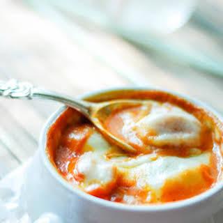 Three Cheese Tortellini Soup.