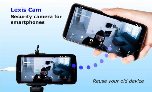 Security camera for smartphones, Lexis Cam Apk 1