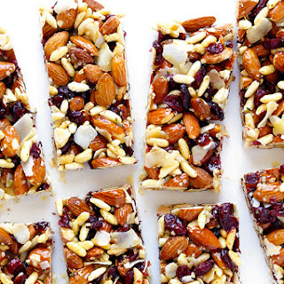 Cranberry Almond Protein Bars.
