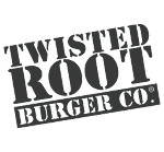 Logo for Twisted Root Burger Co. - Bossier City