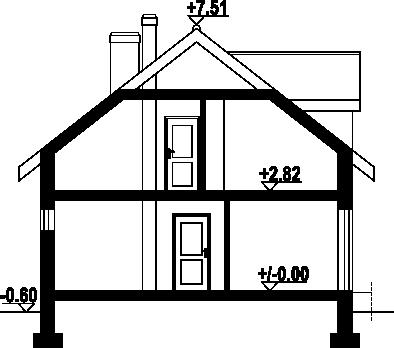 Osiek 305k - Przekrój