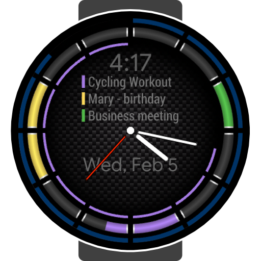 Calendar Analog for Samsung Watch Icon