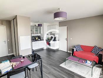 Appartement meublé 2 pièces 42,8 m2