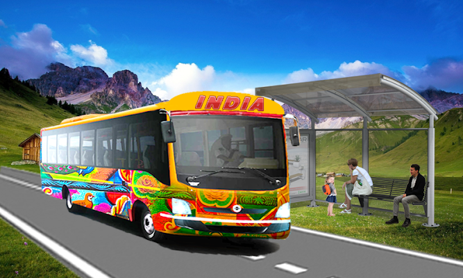 Indian Bus Simulator 2017 New - screenshot