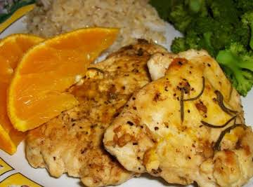 Orange Rosemary Chicken Breasts