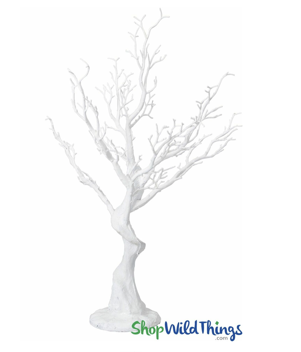 manzanita tree wedding centerpiece